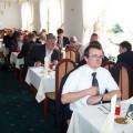 Uczestnicy podczas posiłku