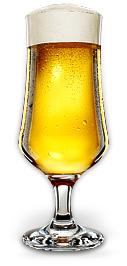 Pokal z piwem
