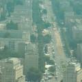 Widok z góry na Karl-Marx-Allee